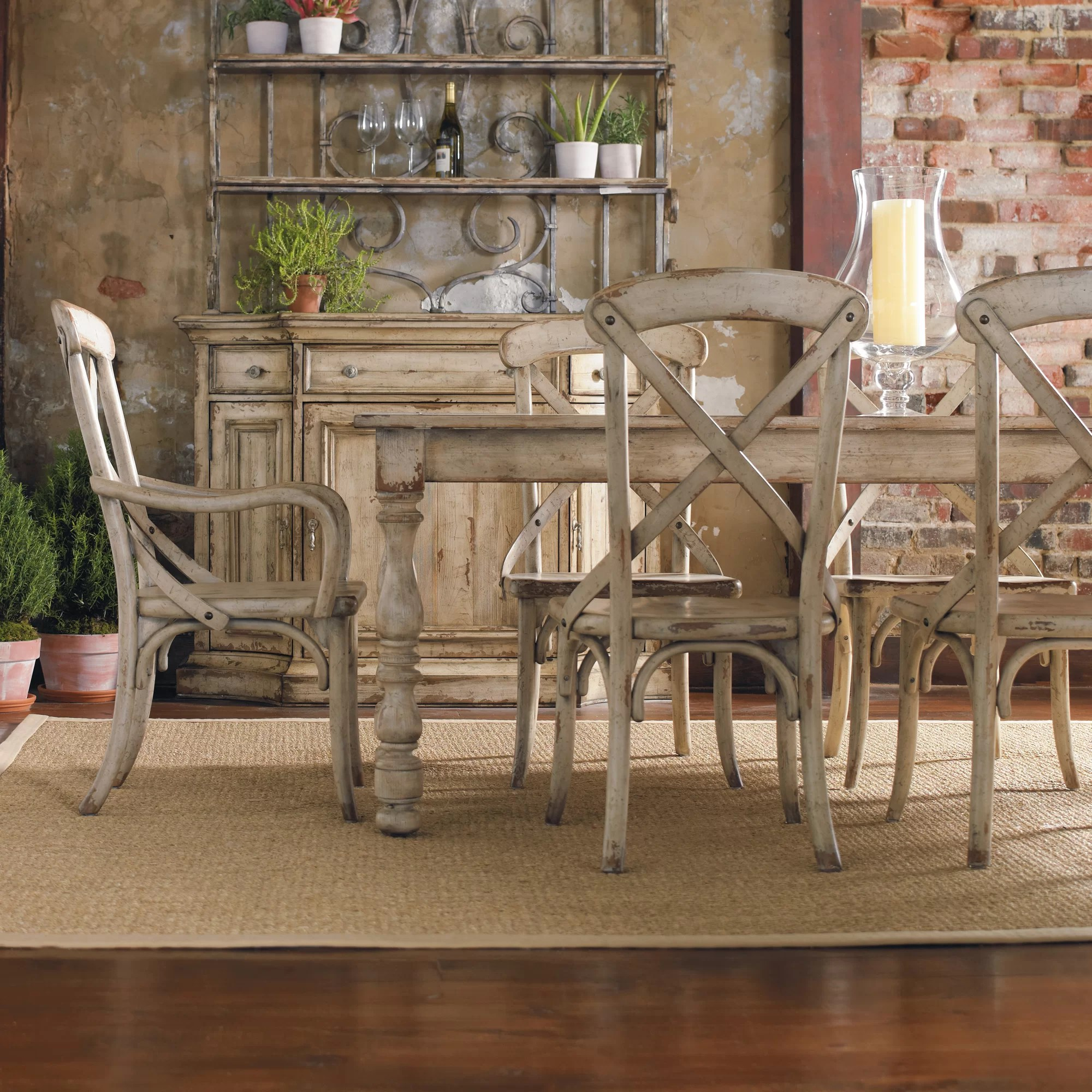 french country farm table and chairs high back rocking chair farmhouse style makeover for 20 how we did it