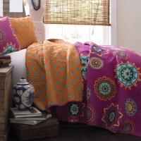 Purple And Orange Bedding Sets | Car Interior Design