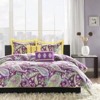 Purple Comforter Sets