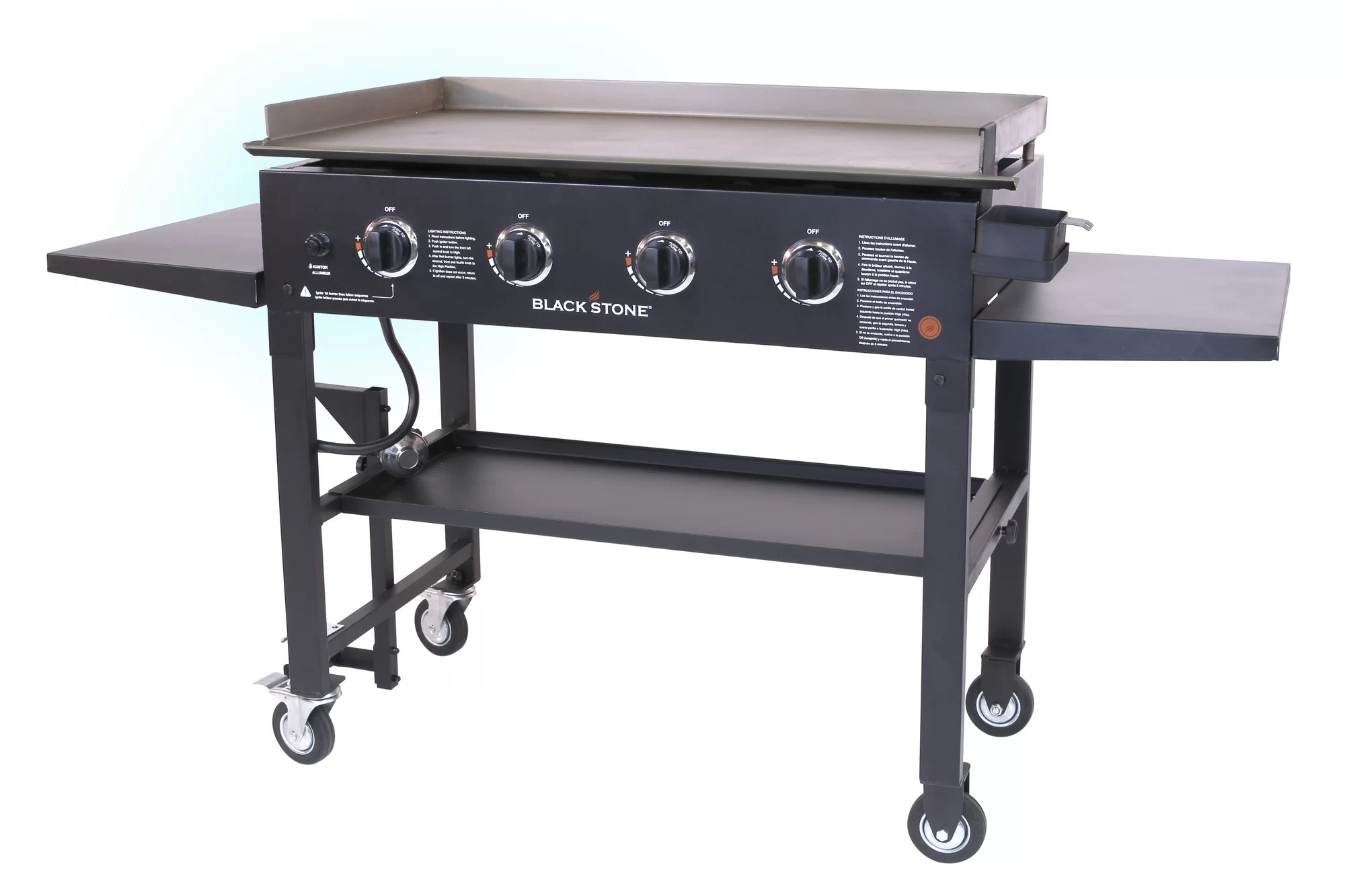 outdoor kitchen griddle island with sink and dishwasher gas grill flat top 4 burner cooktop portable bbq