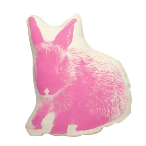 Fauna Picos Organic Cotton Bunny Pillow