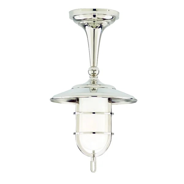 Rockford 1 Light Semi Flush Mount