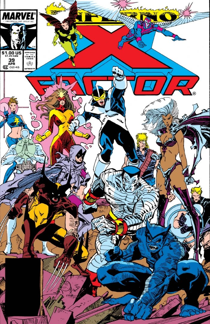 Comic book cover of X Factor 39