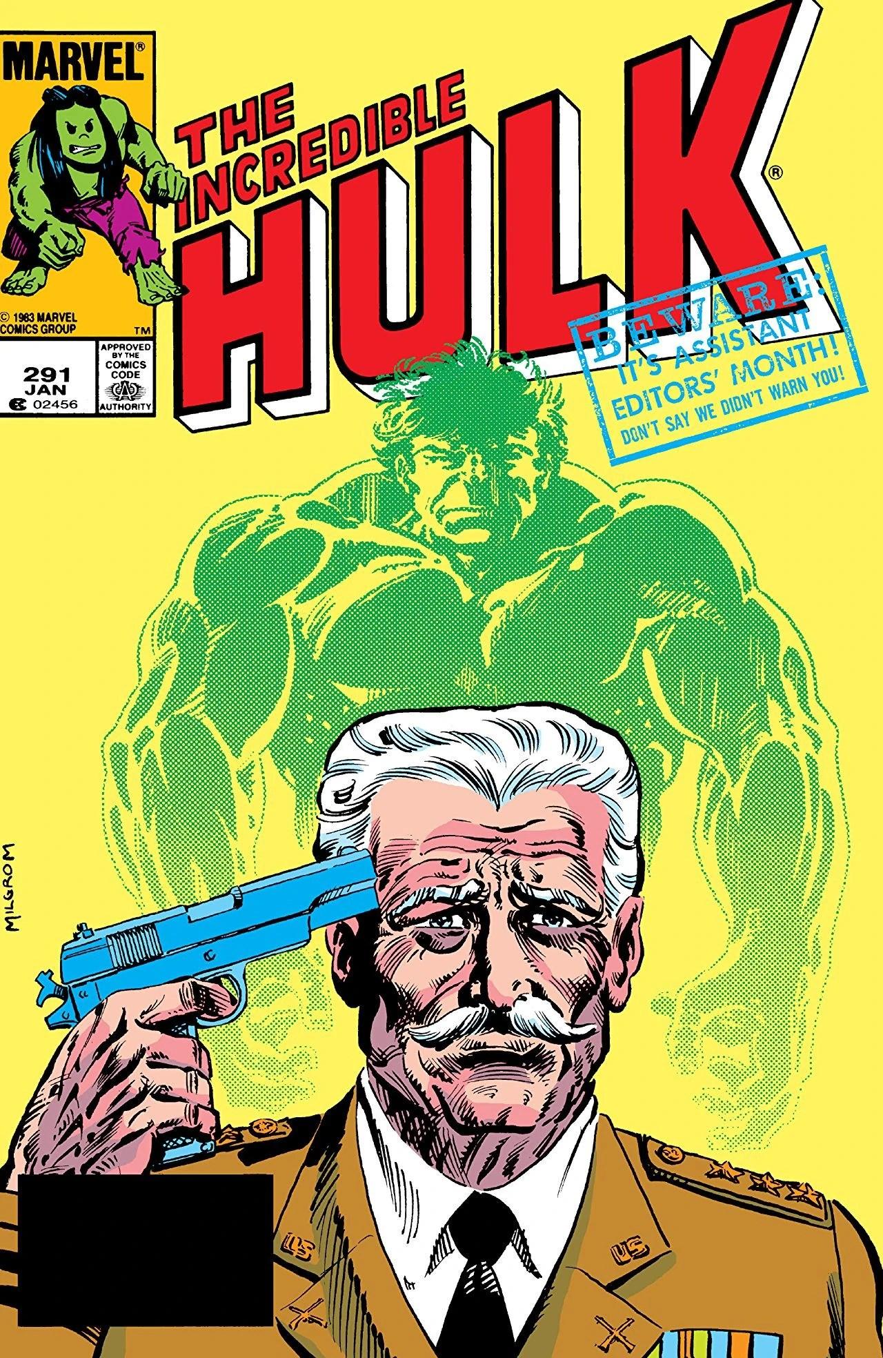 Incredible Hulk Vol 1 291 Marvel Comics Database