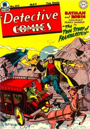 Cover for Detective Comics #135 (1948)
