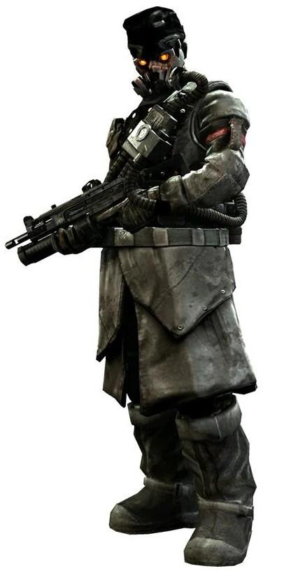 Killzone Shadow Fall Helghast Wallpaper Advanced Shock Trooper Killzone Wiki The Killzone
