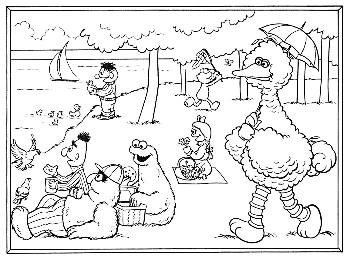 Free coloring pages of snuffy