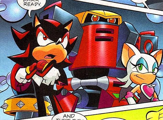 Wallpaper Falling Off Team Dark Mobius Encyclopaedia Sonic The Hedgehog Comics