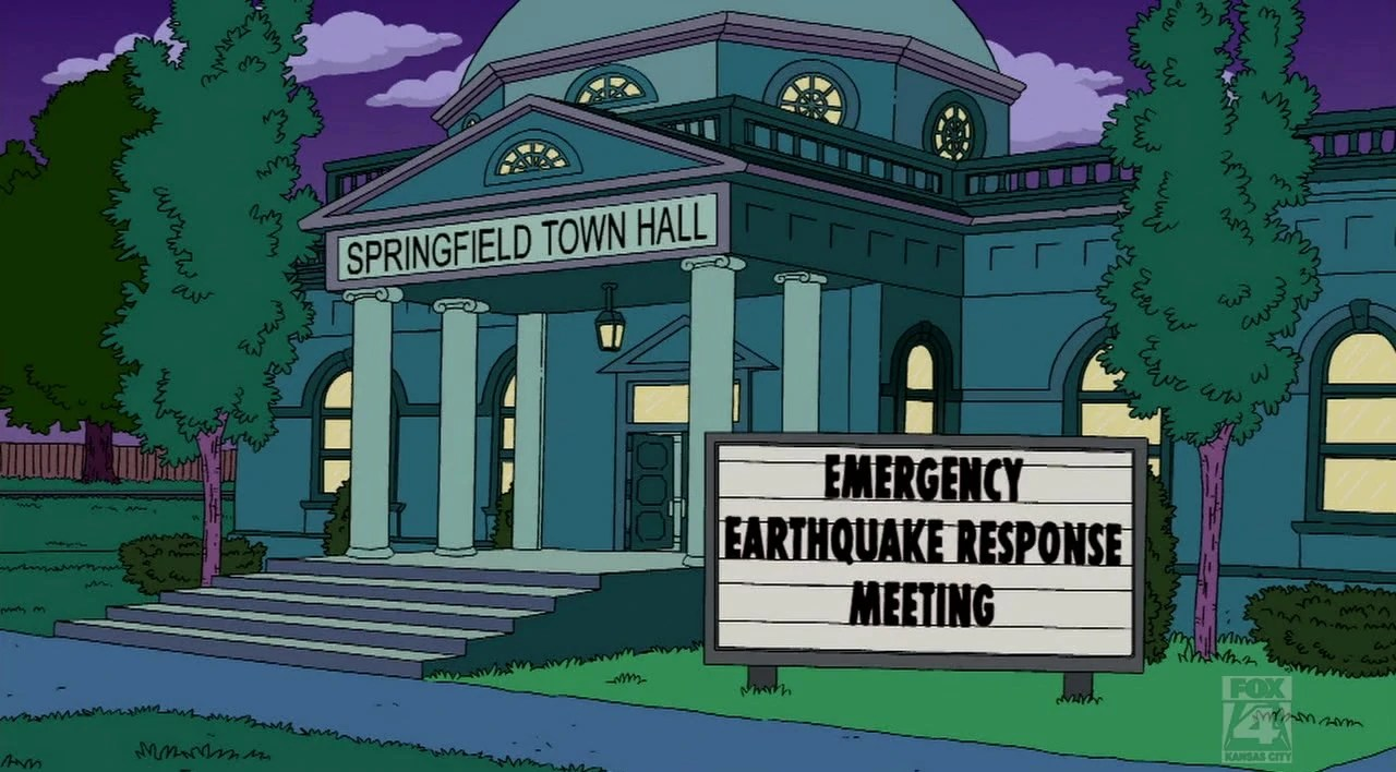 Springfield Town Hall Simpsons Wiki