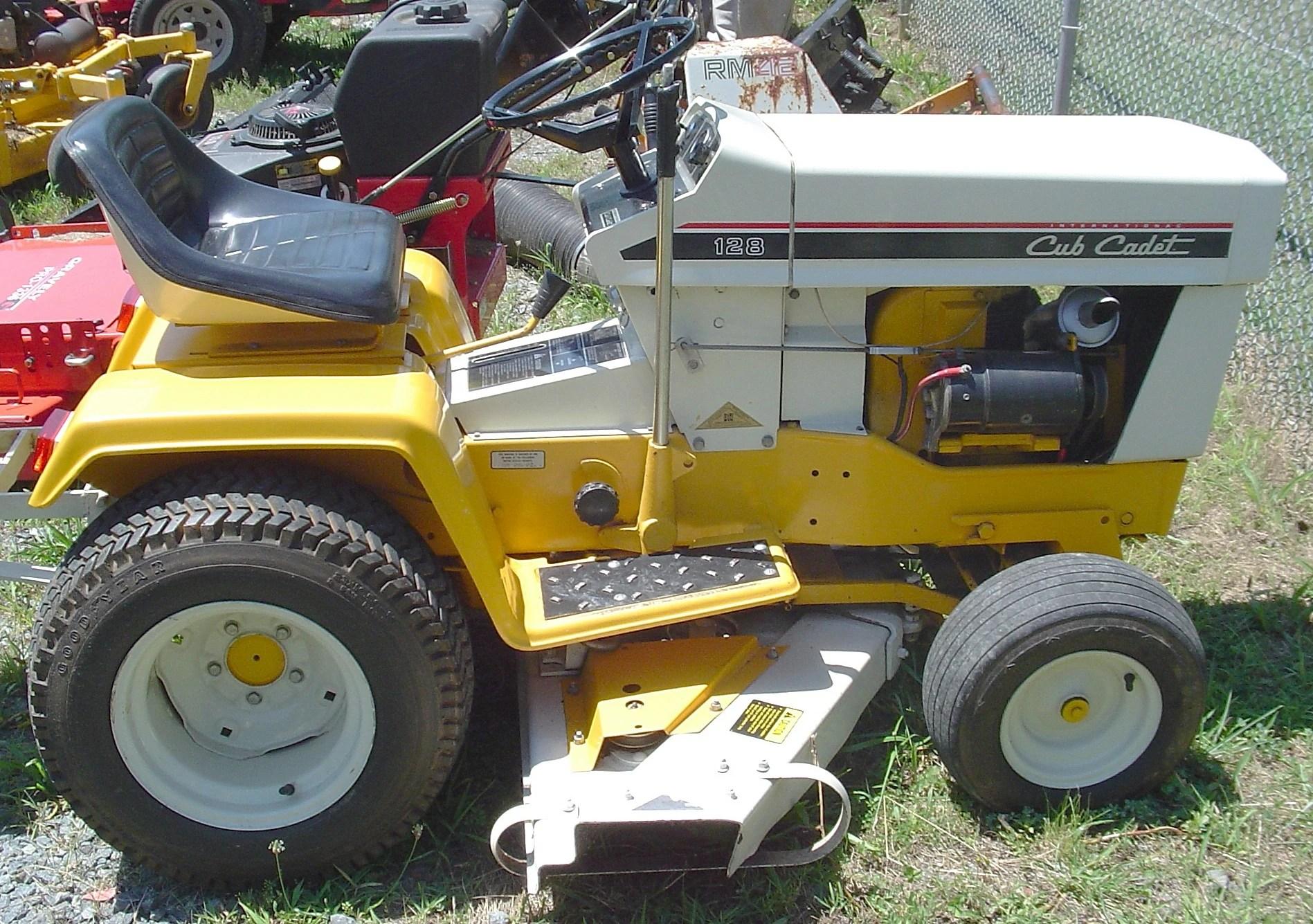 Ford 1220 Tractor Wiring Diagram International Cub Cadet 128 1975