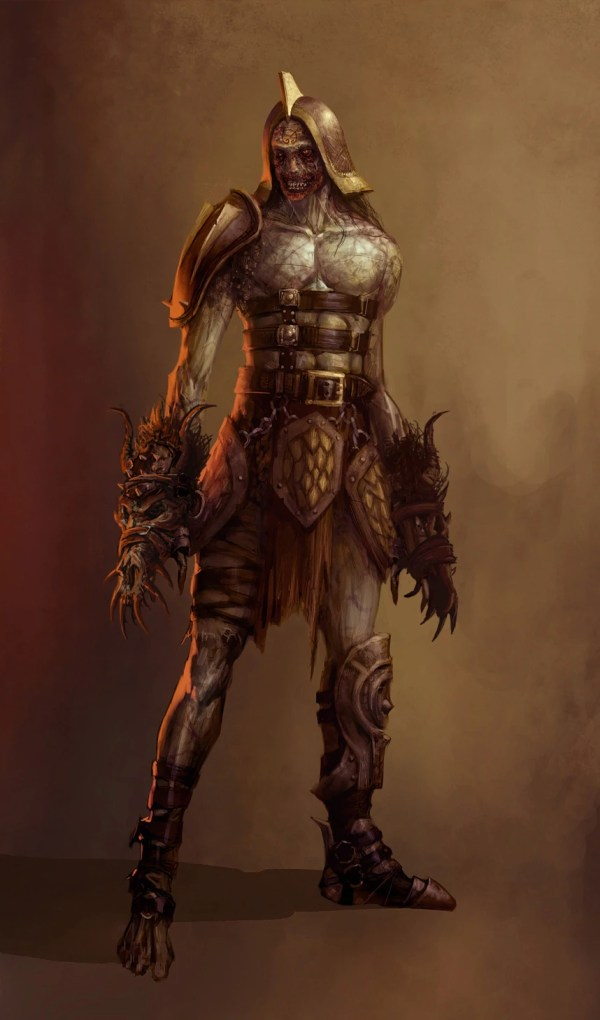 Demon Dragon Age Concept Art