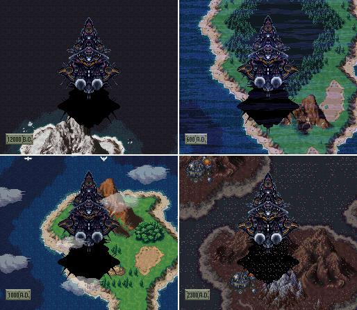 Reverse Falls Will Wallpaper Black Omen Location Chronopedia Chrono Trigger