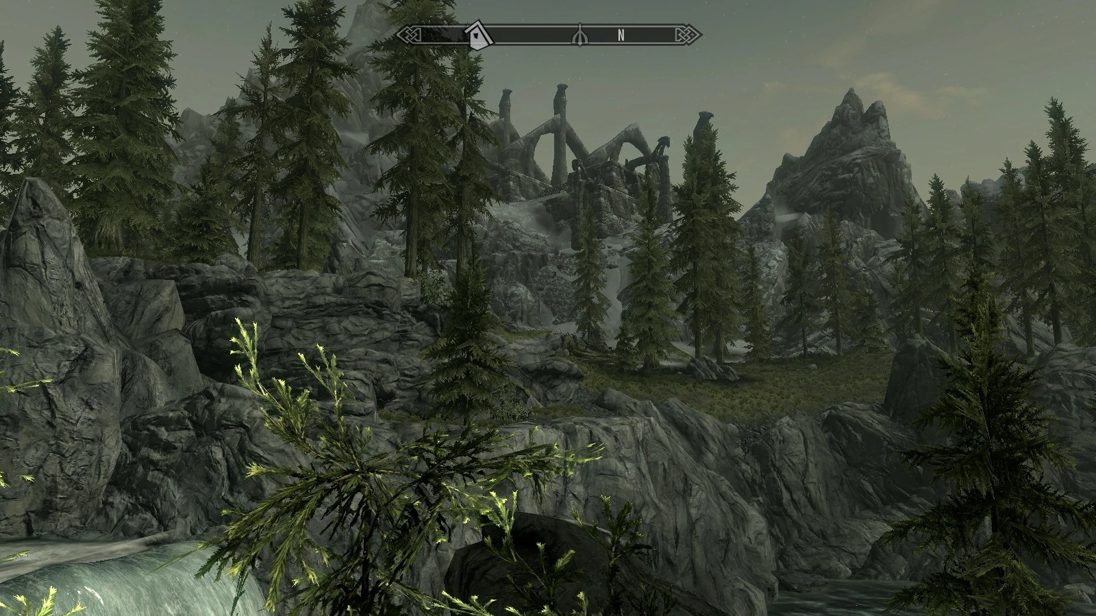 Image result for skyrim bleak falls barrow distance