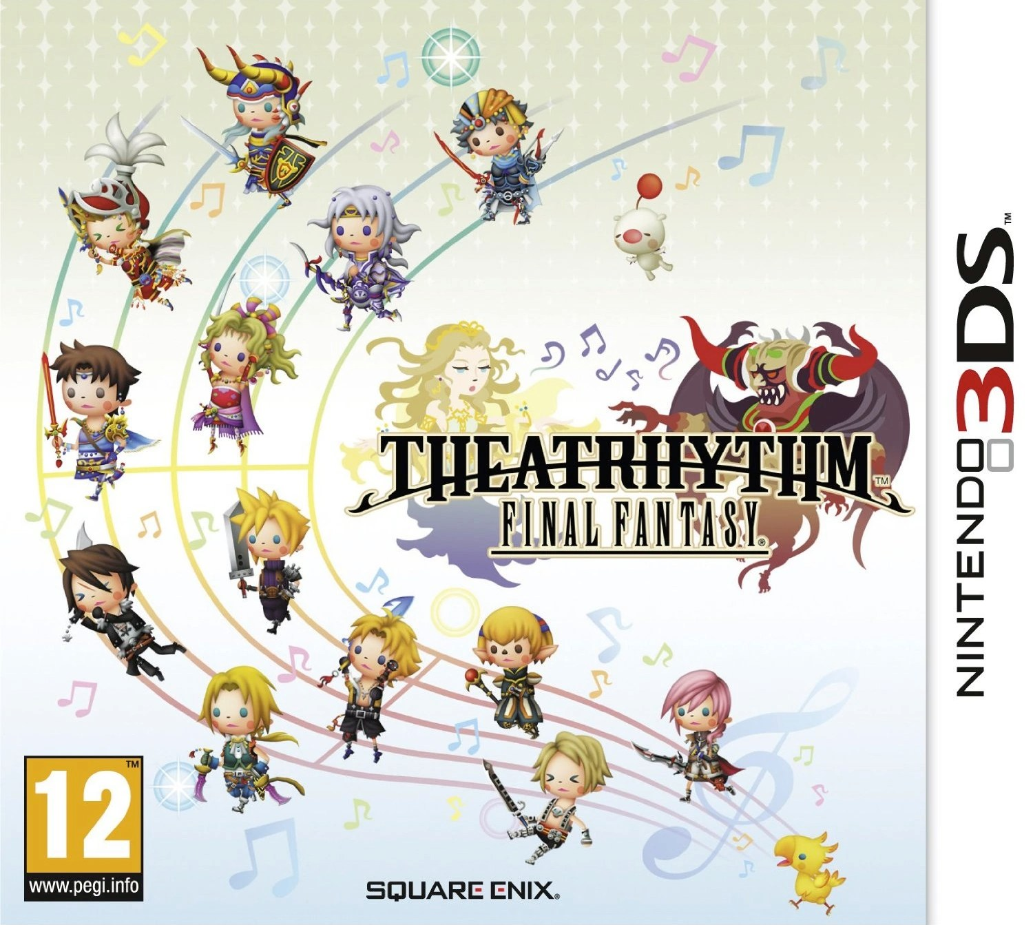 Theatrhythm Cover Art