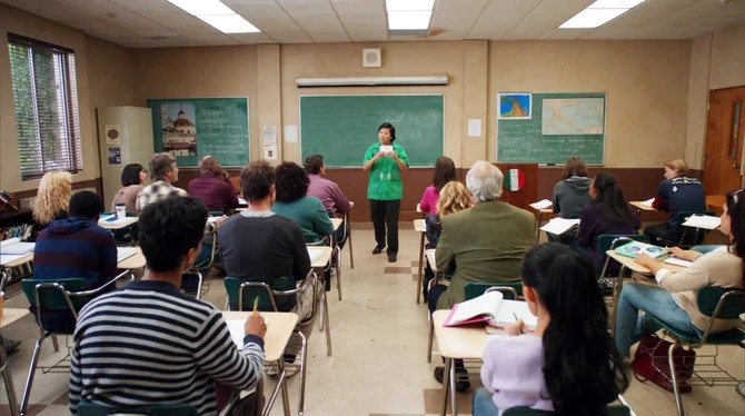 Spanish classroom photo 1