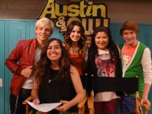 Austin And Ally Cast Celebmix - Year of Clean Water