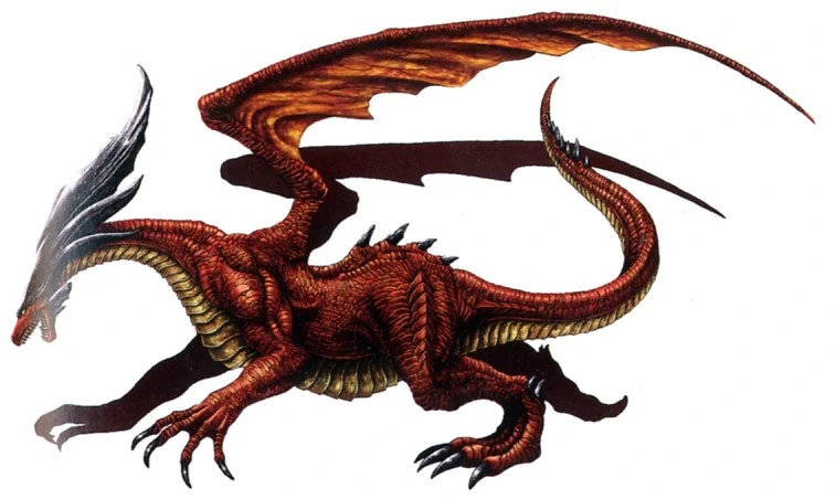 Ruby Dragon The Final Fantasy Wiki 10 Years Of Having More Final Fantasy Information Than