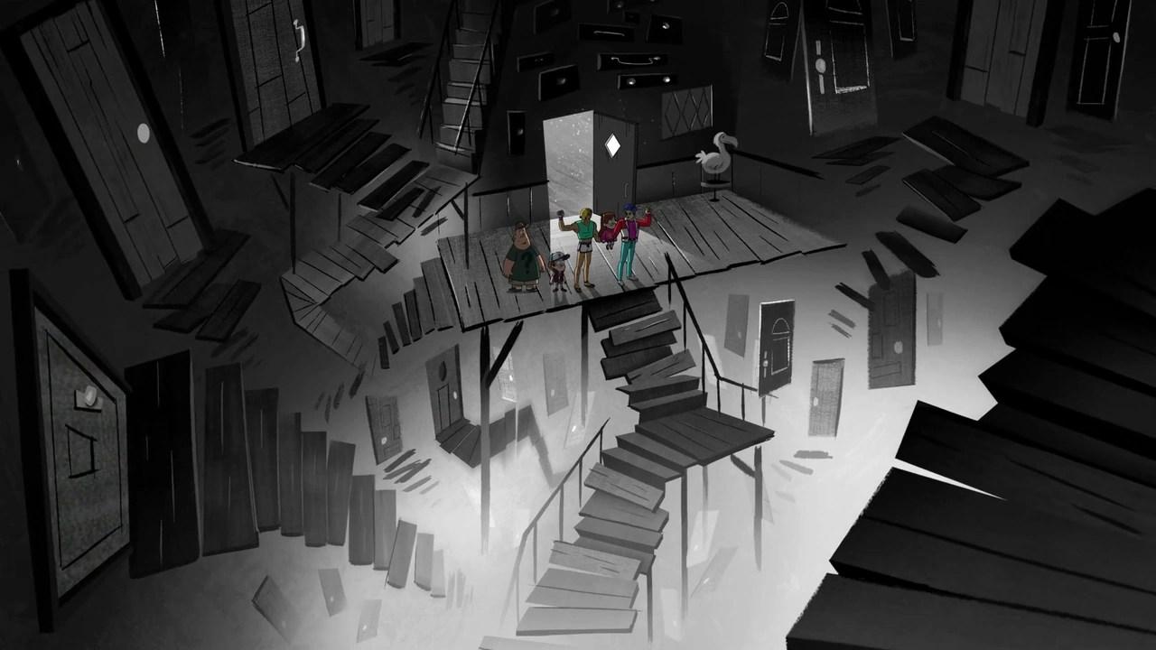 Falling Apart Wallpaper Stan S Mindscape Gravity Falls Wiki