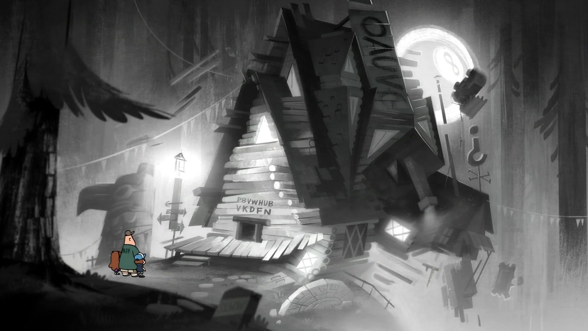 Gravity Falls Summerween Wallpaper Stan S Mindscape Gravity Falls Wiki