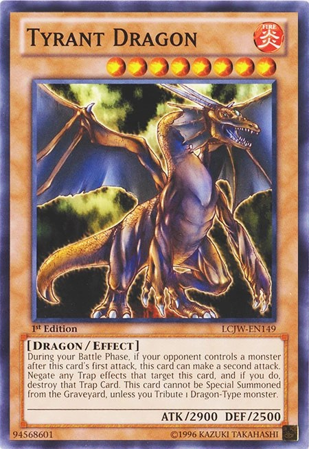 Tyrant Dragon  YuGiOh  Its time to Duel
