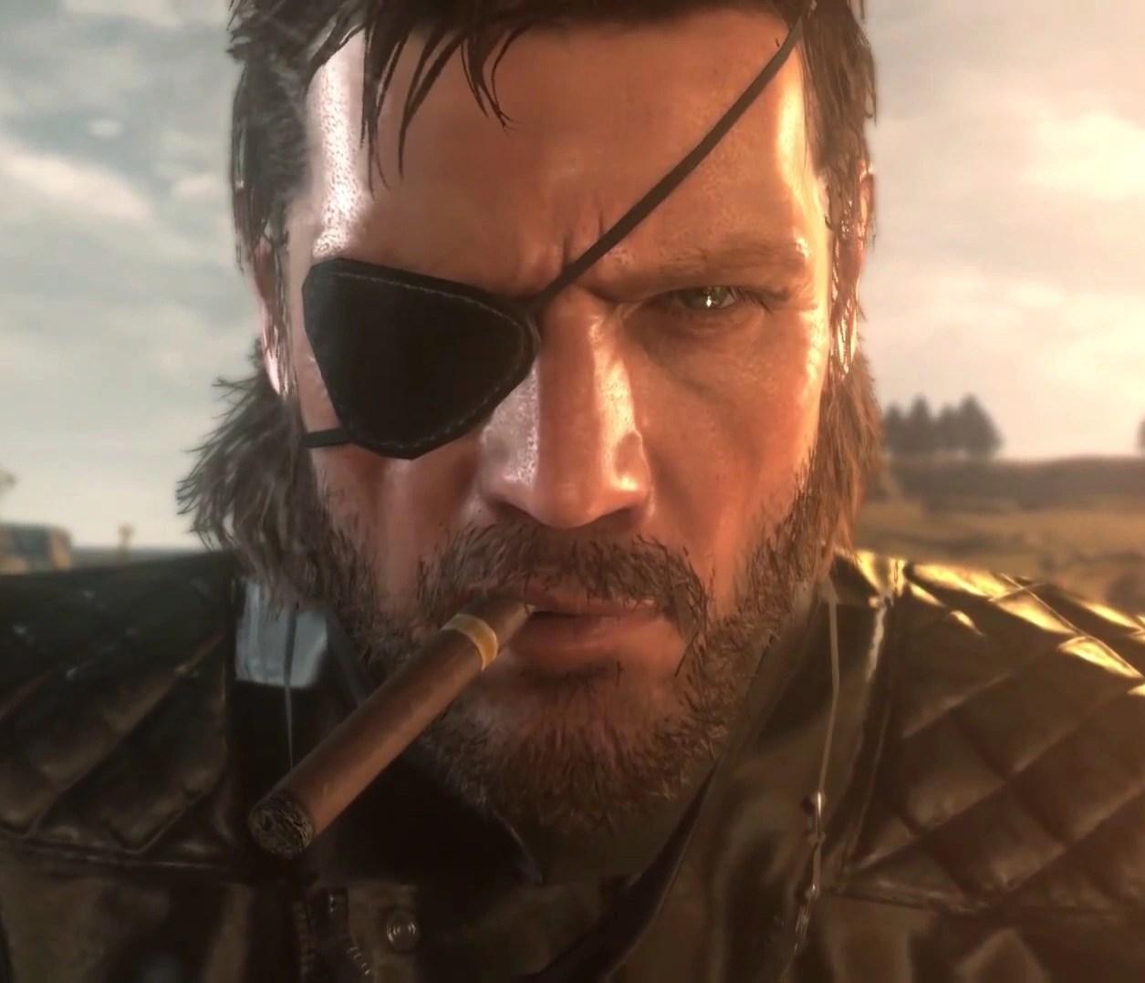 Image result for Big boss eyepatch phantom pain