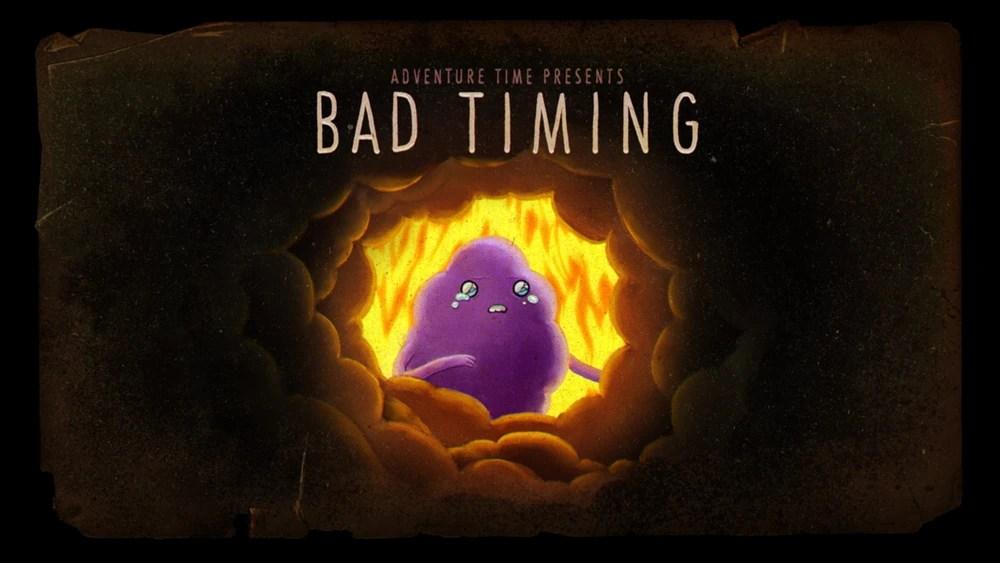 Adventure Time Reviews: Season 5 (Bad Timing/Billy's Bucket