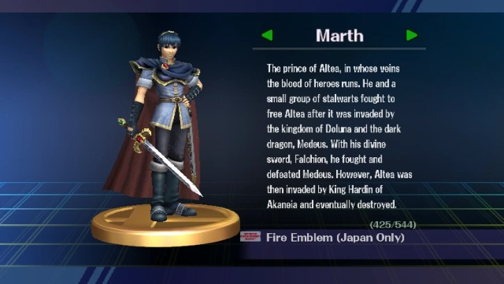 Marth Smashpedia The Super Smash Bros Wiki