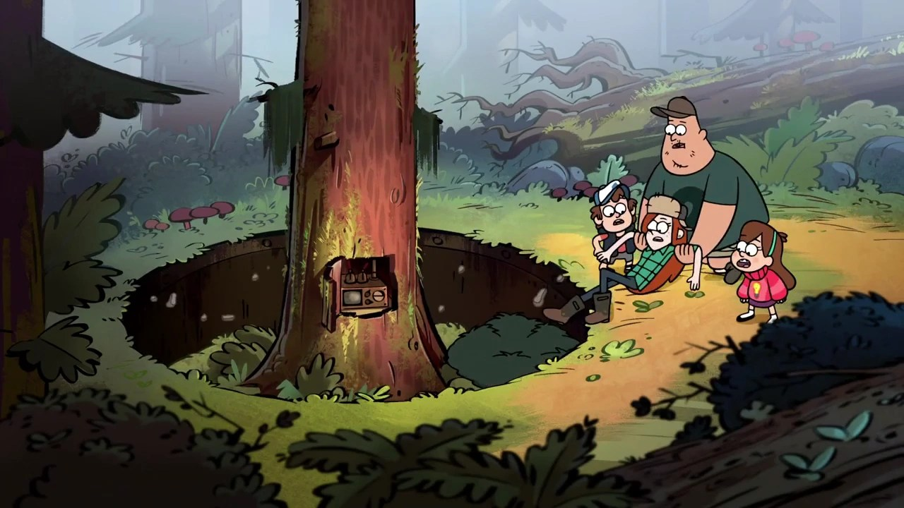 Gravity Falls Wallpaper Forest Bunker Gravity Falls Wiki