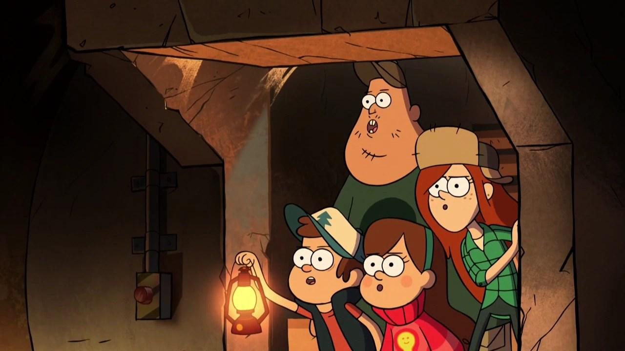 Gravity Falls Dipper And His Crush Wallpaper Into The Bunker Gravity Falls Wiki