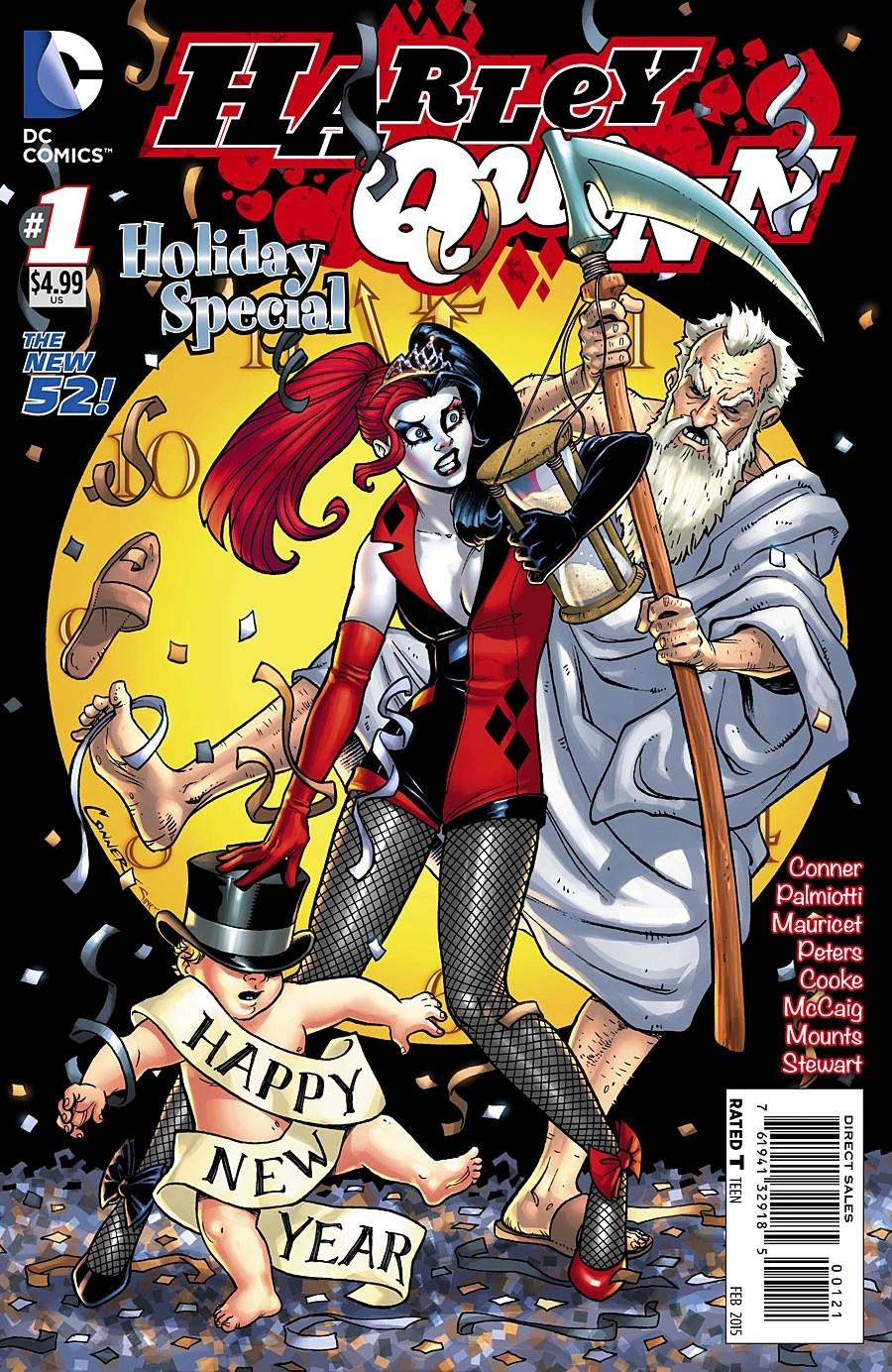 Gotham Girls Derby Wallpaper Harley Quinn Holiday Special Vol 1 1 Dc Comics Database