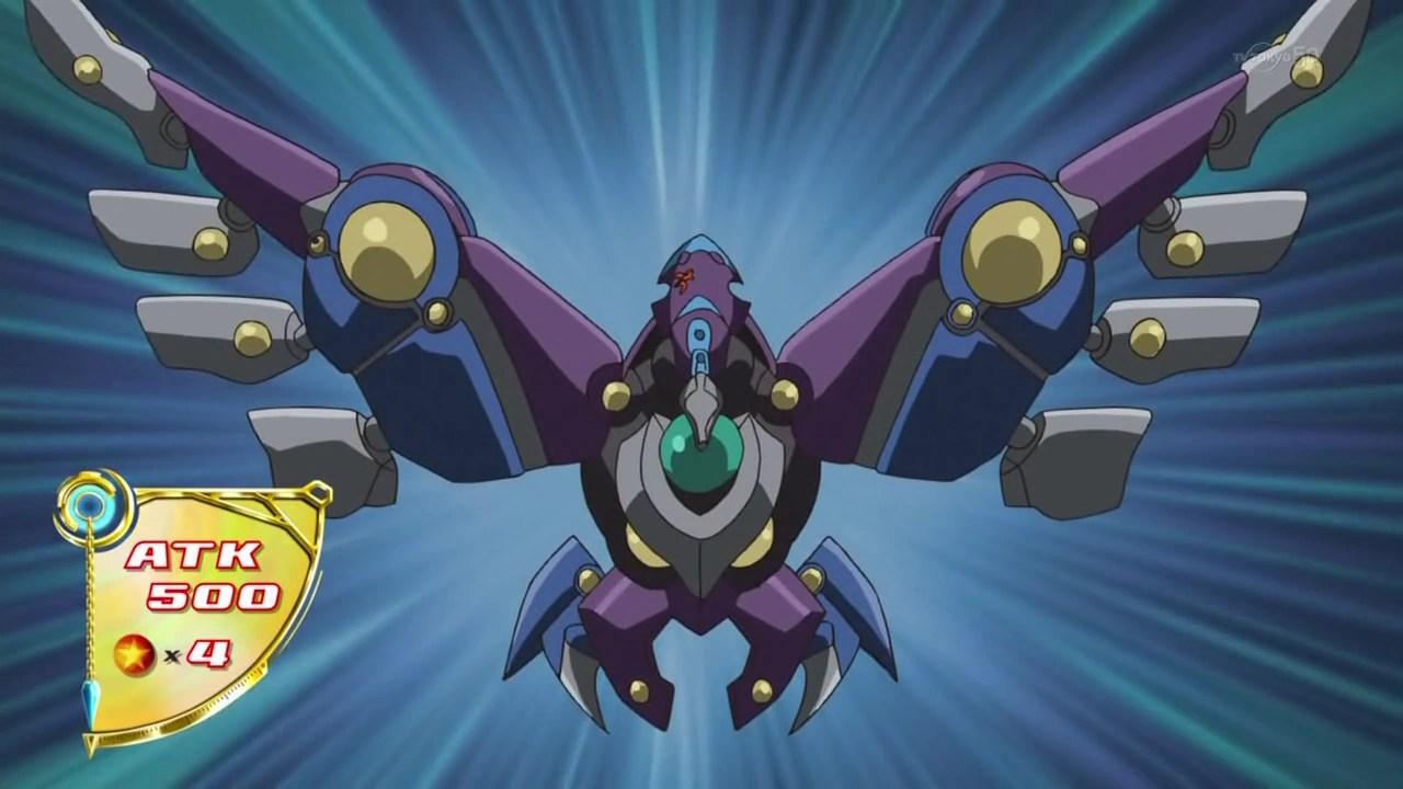 Raidraptor Fuzzy Lanius Anime Yu Gi Oh