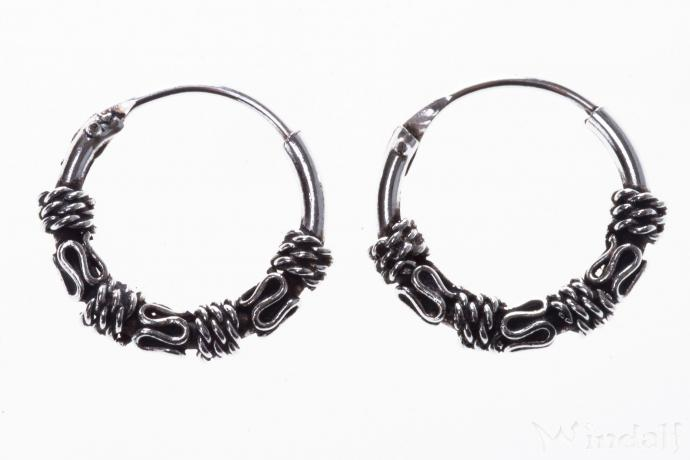Ohrringe  AMIKA  Kleine Kreolen   12 cm  Schmuck
