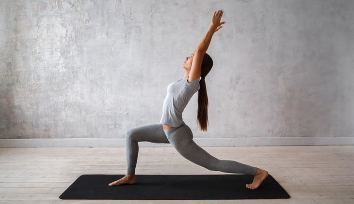 Yoga Pose High Lung