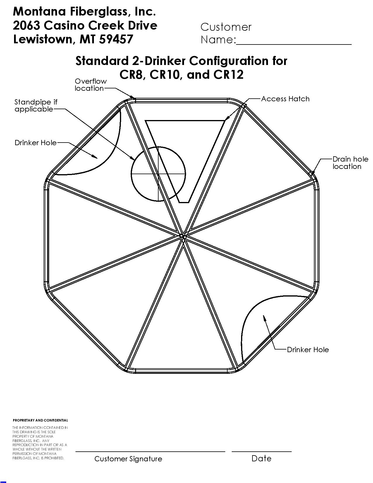 small resolution of large round cover 3 drinker standard diagram jpg