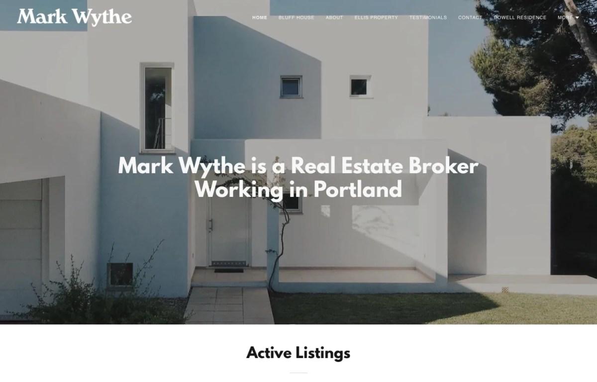 Real estate website templates for build yourself websites