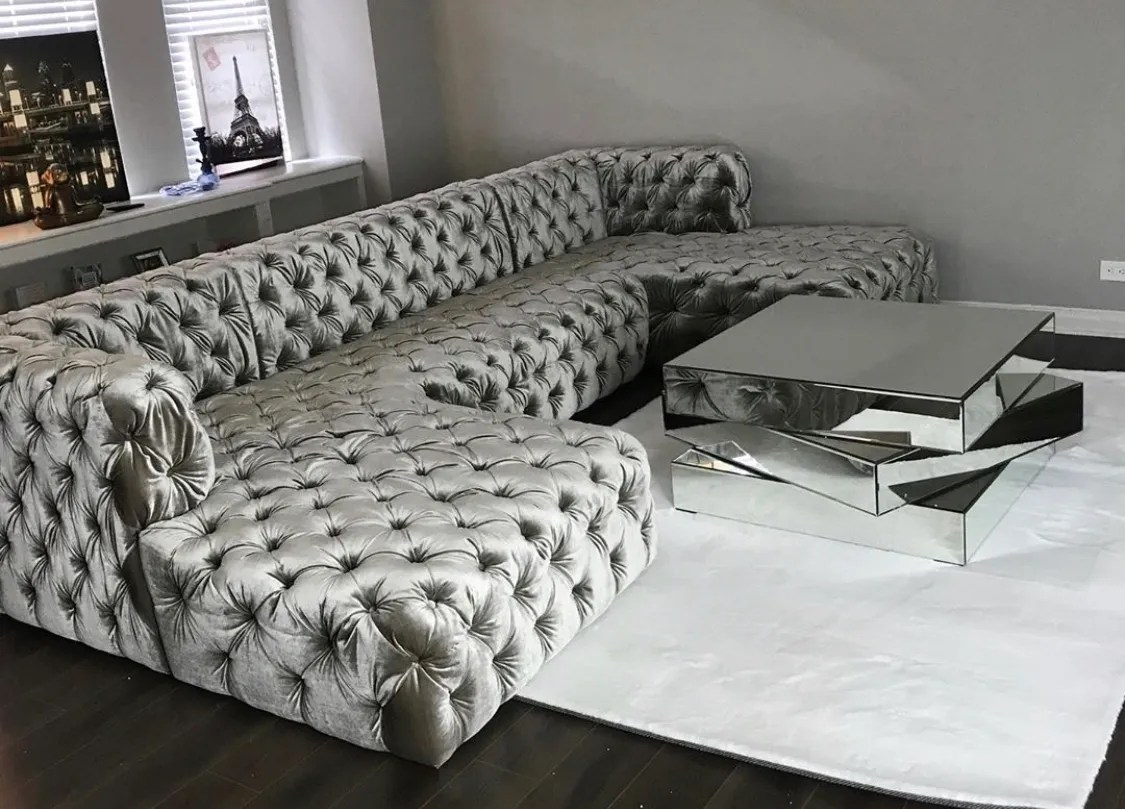 madrid double chaise sectional sofa