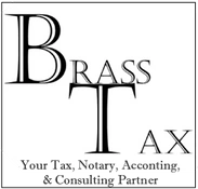Brass Tax, Accounting, Notary Public, Live Scan