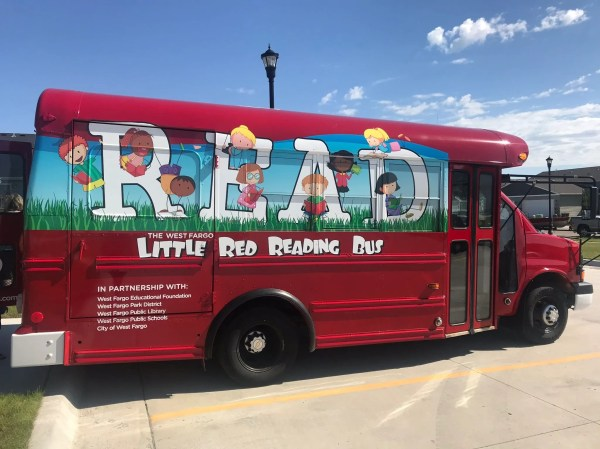 Donate Little Red Reading Bus