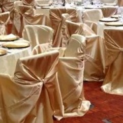 Gold Universal Chair Covers Cool Desk The Wedding Decorators These Self Tie Satin Are More Known As For One Reason They Used To Cover Or Hide Mismatched Chairs