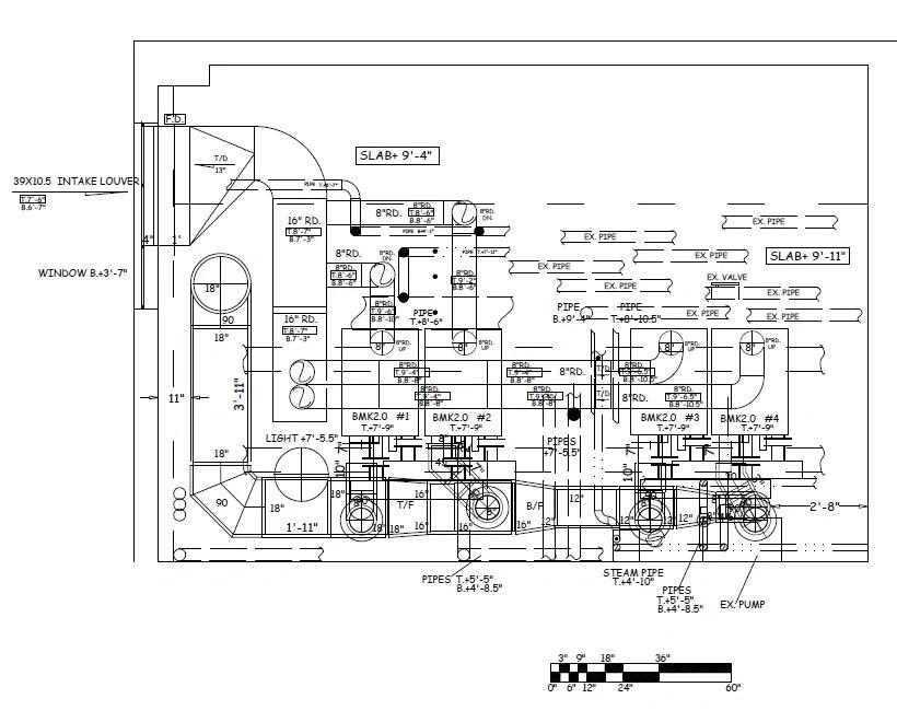 HVAC Shop Drawing