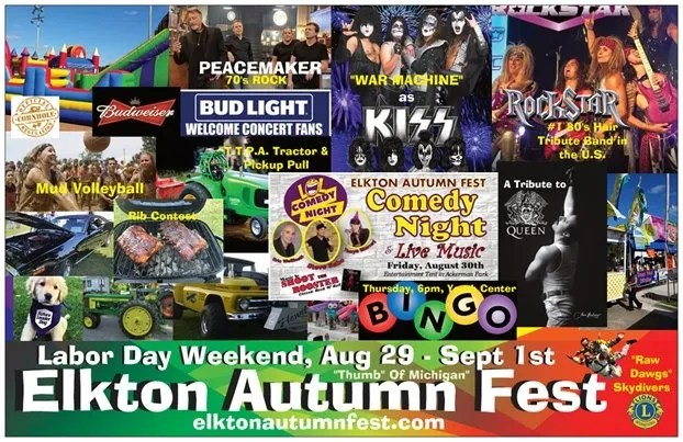 Elkton Michigan Autumn Fest