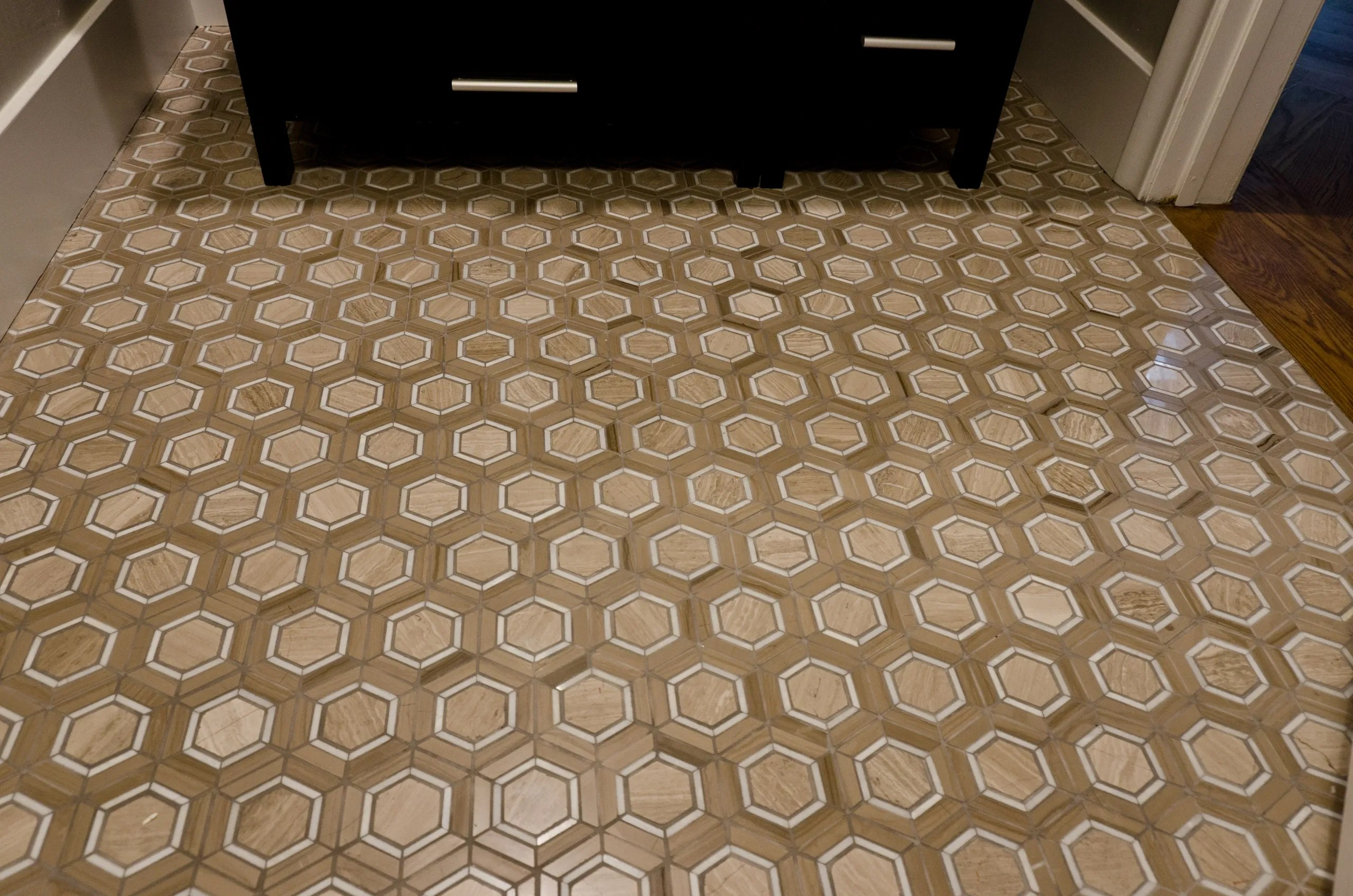 tile designs of new england home