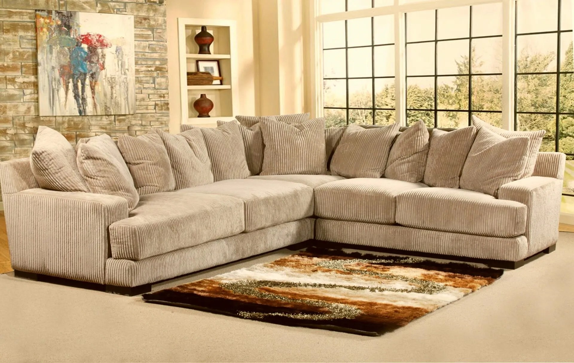 leather vs fabric sofa india for less e amazing sectional kitchener sofas