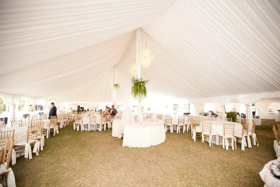chair cover rentals florence sc office chairs austin complete rental tent event and supplies
