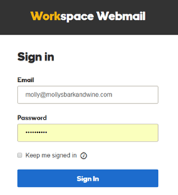Log in to my email account  Workspace Email  GoDaddy Help GB