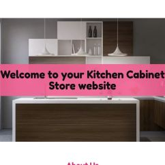 Kitchen Cabinet Stores Island Seats 6 Store Website Templates Godaddy Example