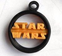 star wars keychain 3d