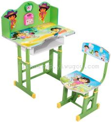 Supply Lifting tables and chairs writing desk the cartoon student desk desk Office furniture