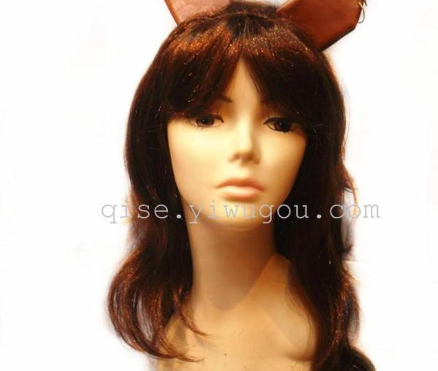Halloween Angel Wig Wigs Fun Wigs Makeup Show Supplies C