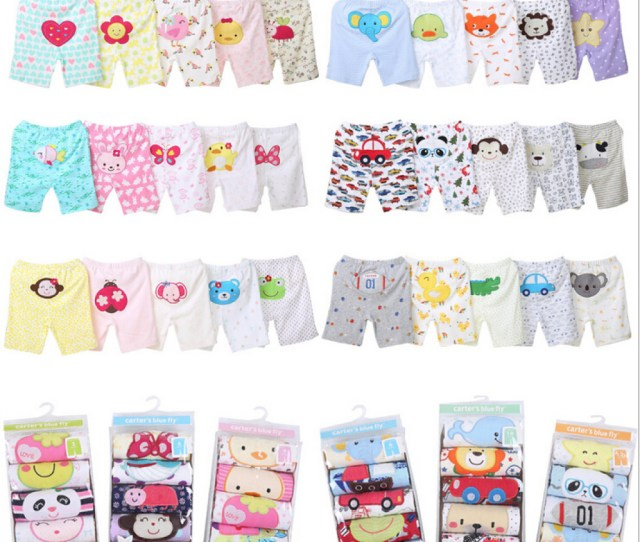 Summer Carter Seven Foreign Trade Carters Cotton Baby Pants Baby Pants Shorts